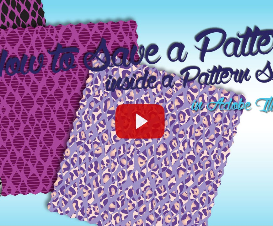 Adobe Illustrator Pattern Swatch Tutorial