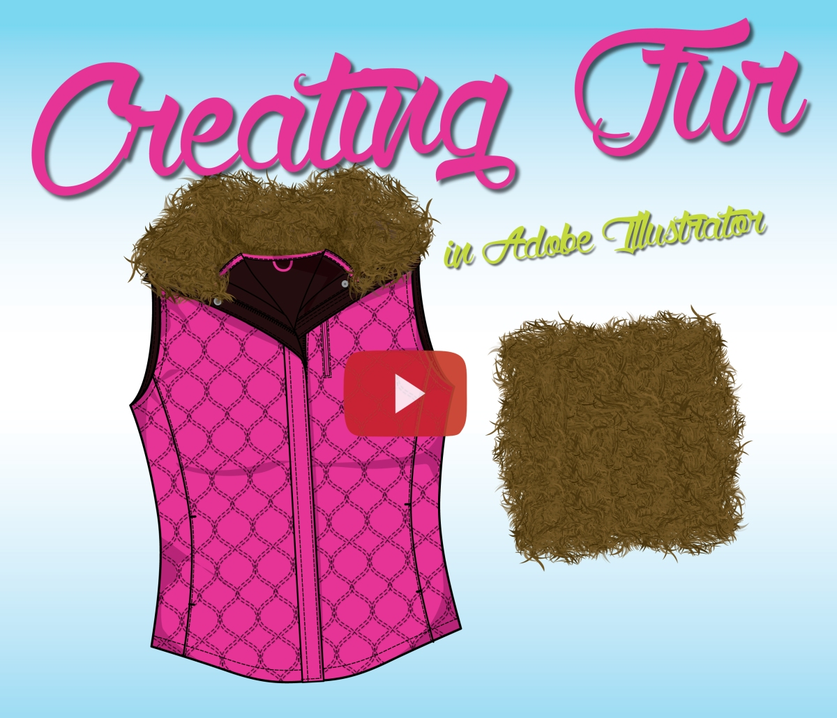 How to Draw Fur in Adobe Illustrator